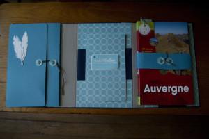 Carnet de voyage Auvergne 2015